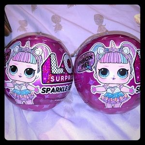 NO LONGER IN STORES TWO LOL DOLL SPARKLE SERIES